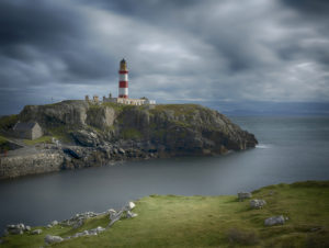 SCALPAY LIGHT HOUSE. by Graham Adamson